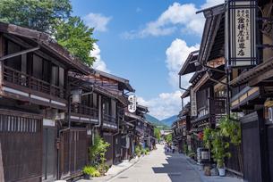 長野県 奈良井宿の写真素材 [FYI04612578]