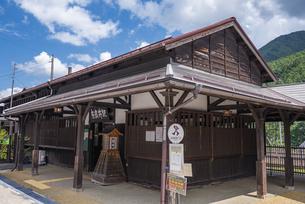 長野県 JR東海 奈良井駅の写真素材 [FYI04612579]