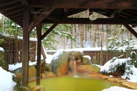 平湯民俗館 平湯の湯の写真素材 [FYI04612875]