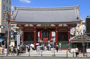 浅草雷門の写真素材 [FYI04612967]