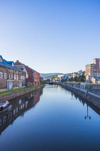 小樽運河の写真素材 [FYI04612993]