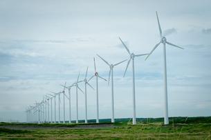 オトンルイ風力発電所の写真素材 [FYI04613885]