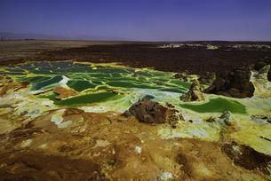 ダロール火山の絶景(ダナキル砂漠、エチオピア)の写真素材 [FYI04614064]