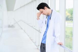 日本人男性医師の写真素材 [FYI04614573]