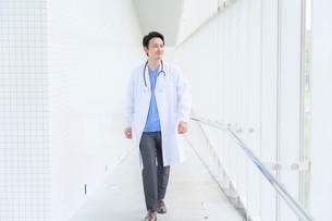日本人男性医師の写真素材 [FYI04614585]