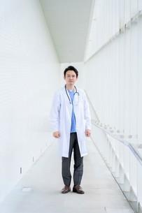 日本人男性医師の写真素材 [FYI04614602]