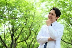 日本人男性医師の写真素材 [FYI04614615]