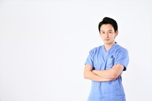 日本人男性医師の写真素材 [FYI04614895]