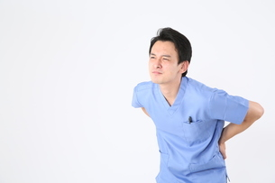 日本人男性医師の写真素材 [FYI04614931]