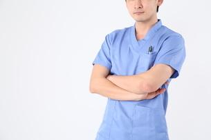 日本人男性医師の写真素材 [FYI04614936]