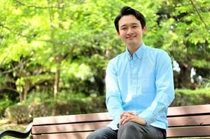 日本人男性の写真素材 [FYI04616066]