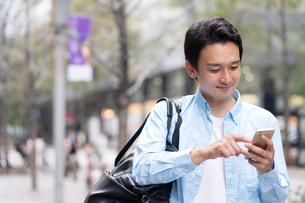 日本人男性の写真素材 [FYI04616224]
