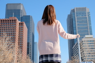 日本人女性の写真素材 [FYI04616338]