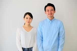 日本人夫婦の写真素材 [FYI04616716]