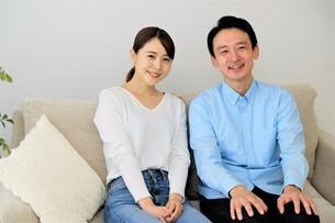 日本人夫婦の写真素材 [FYI04616726]