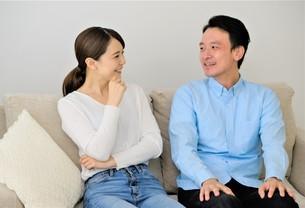 日本人夫婦の写真素材 [FYI04616730]