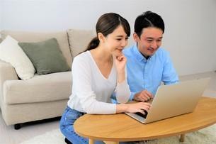 日本人夫婦の写真素材 [FYI04616781]