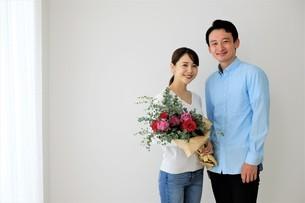 日本人夫婦の写真素材 [FYI04616858]