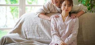 日本人夫婦の写真素材 [FYI04617329]