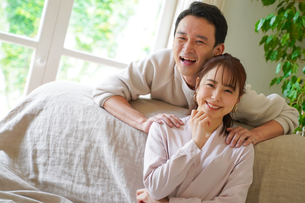 日本人夫婦の写真素材 [FYI04617332]
