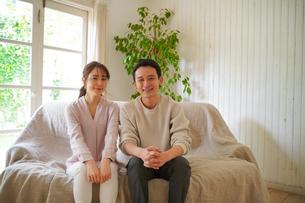 日本人夫婦の写真素材 [FYI04617381]