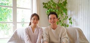日本人夫婦の写真素材 [FYI04617393]