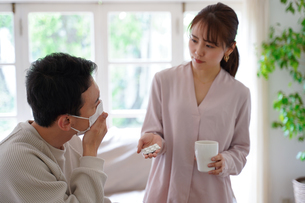 日本人夫婦の写真素材 [FYI04617525]