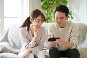 日本人夫婦の写真素材 [FYI04617743]