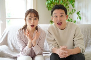 日本人夫婦の写真素材 [FYI04617782]