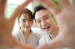 日本人夫婦の写真素材 [FYI04617784]