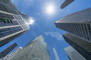 ミッドタウンマンハッタン パークアベニューの高層ビル群。の写真素材 [FYI04617786]