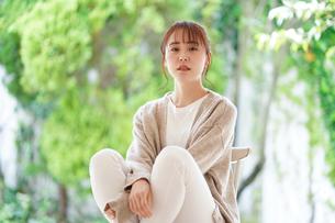日本人女性の写真素材 [FYI04617850]