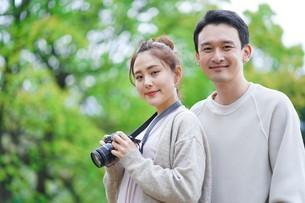 日本人夫婦の写真素材 [FYI04617938]