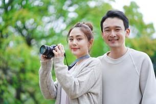 日本人夫婦の写真素材 [FYI04617944]