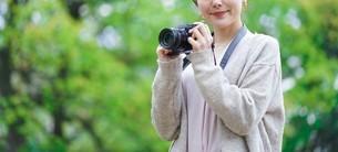 日本人女性の写真素材 [FYI04617953]