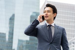 日本人ビジネスマンの写真素材 [FYI04618276]