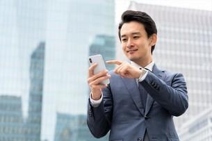 日本人ビジネスマンの写真素材 [FYI04618277]