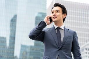 日本人ビジネスマンの写真素材 [FYI04618278]