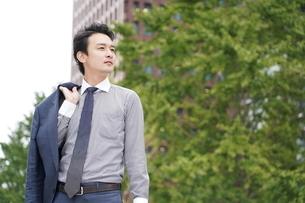 日本人ビジネスマンの写真素材 [FYI04618336]