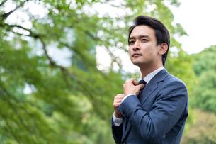 日本人ビジネスマンの写真素材 [FYI04618430]
