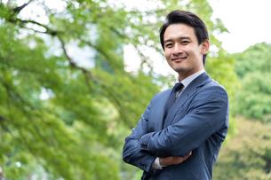 日本人ビジネスマンの写真素材 [FYI04618432]