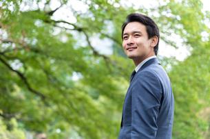 日本人ビジネスマンの写真素材 [FYI04618437]