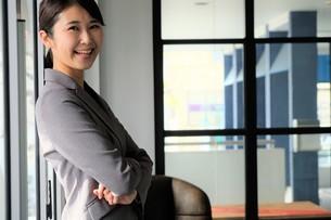 日本人ビジネスウーマンの写真素材 [FYI04618447]
