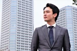 日本人ビジネスマンの写真素材 [FYI04618471]