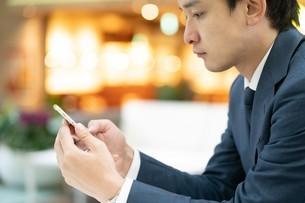 日本人ビジネスマンの写真素材 [FYI04618477]