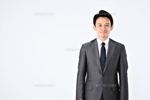 日本人ビジネスマンの写真素材 [FYI04618478]