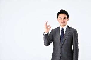 日本人ビジネスマンの写真素材 [FYI04618489]