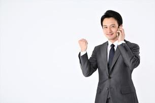 日本人ビジネスマンの写真素材 [FYI04618512]