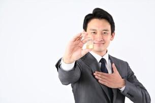 日本人ビジネスマンの写真素材 [FYI04618527]