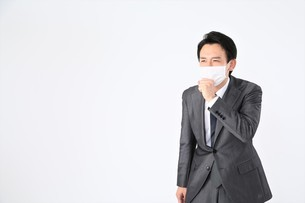 日本人ビジネスマンの写真素材 [FYI04618537]